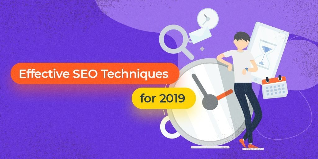SEO techniques for 2019