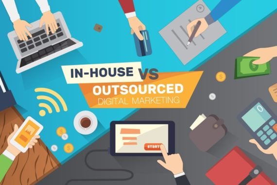 outsourcing their marketing projects
